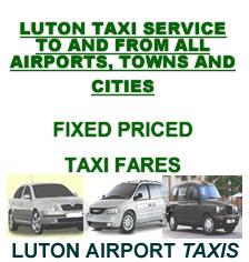 Luton airport taxi - luton taxi - cheap luton taxi