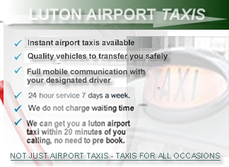 taxi rates luton